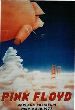 A3 A4 Size - Pink Floyd Oakland Coliseum 1977 Vintage Poster