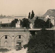 Allemagne c. 1900 - Stéréo KOBLENZ Bord du Rhin - 20