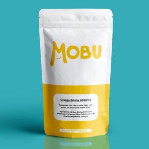 Ginkgo Biloba 6000mg - 120 Tablets High Strength    Blood Circulation   Memory  