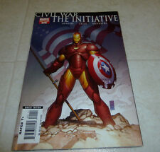 Civil War: The Initiative #1 One Shot Bendis Silvestri Iron Man Avengers