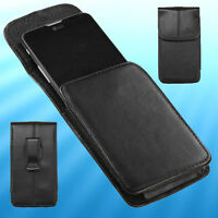For iPod touch 6 iPhone SE 5s Leather Case Pouch Cover Swivel Belt Clip Holster