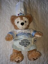 """Disney Parks Chef Duffy Plush Bear Mickey Mouse Epcot 2013 Food and Wine 19"""""""