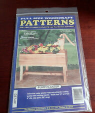 The Winfield Collection Pump Planter Fullsize Wood Craft Patterns Nos #Pl20