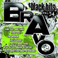 BRAVO BLACK HITS VOLUME.34 2 CD NEW CHRIS BROWN/R.KELLY/DANIEL SMITH/SEAN PAUL