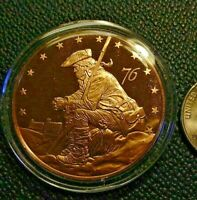 PENNSYLVANIA BICENTENNIAL Medal - FRANKLIN MINT Bronze Proof