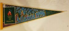 1996 Summer Olympics in Atlanta Georgia Pennant First 100 Year of Modern Olympia