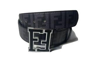 Fendi Belt Black Size 30-34In.