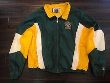 Green Bay Packers Vintage Pro Line Champion Windbreaker Jacket Mens X-Large XL