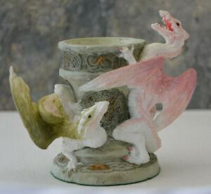 Enchantica Dragon Candle Holder Wyrmin Jeljade 1999 Collectors Club Fantasy