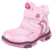 Stiefel Stiefeletten Boots Mädchen gefüttert Klett Gr. 31 32 33 34 35 36 NEU
