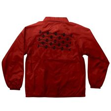Independent Og Pattern Coach Windbreaker Jacket Red Xl