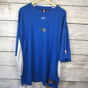 Orlando Magic Reebok NBA size 2xl short sleeve textured jersey shirt