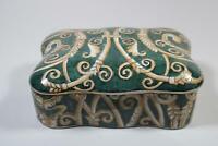 Dose Deckeldose aus Porzellan handbemalt im Antik Stil (RK087)