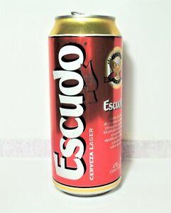 Chile Beer Can Lata Cerveza Escudo 2012 - Open (See description)