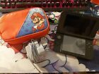 Nintendo Red 3DS XL - Charger & Mario Case Included