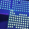 appliqué 30 étoiles 1 cm Flex thermocollant PHOSPHORESCENT