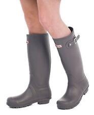 Women's Wellies - Ladies Grey Wellington Boots - Size 6 UK - EU 39