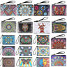 Mandala Special Shaped Diamond Painting Kit Wristlet Clutch Wallet Coin Purse UK