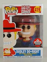 Funko Pop! Dudley Do-Right Mountie, 2018 Fan Expo CA