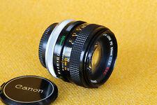 Canon FD 50mm 1:1,4 S.S.C. - adaptierbar an Sony NEX, 4/3, Lumix usw.