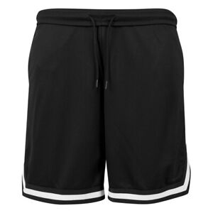 Snice - White Stripes Mesh Shorts mit 2 Taschen - Größen S - 2XL - Basketball