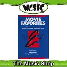 Essential Elements Movie Favourites for B Flat Trumpet - Popular Movie Song Book