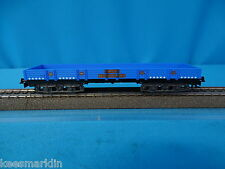 Marklin 4473 DB Four Axled Flat Car BLUE MONDELINO