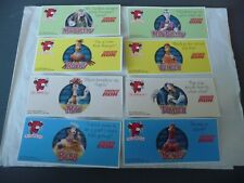 More details for laughing cow cheese dippers set of 8 chicken run cards/stickers