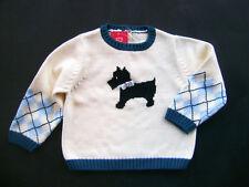GYMBOREE My Best Friend Cotton Scottie Pullover Sweater Girls 18 -  24 M New
