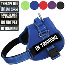 DO NOT PET Dog Vest Harness Reflective Patches SERVICE DOG IN TRAINING EMOTIONAL