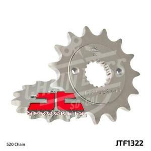 JT Sprockets 520 Front Sprocket Steel 15 Teeth Natural JTF1322.15