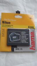 Hama LCD Protective Glass Kit for Nikon D300 088627