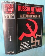 WWII Russian Front Histry: Russia at War 1941-1945; HC/DJ 1100 Pgs