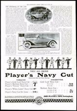 1916 - Antique Print ADVERTISING Players Navy Cut Cigarettes   (009)