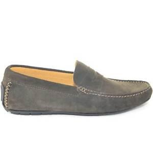 mocassino car shoes uomo testa di moro comfort casual made in italy vera pelle s