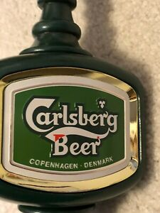 Anheuser-Busch - Carlsberg Beer Wooden Tap Handle - Never Used
