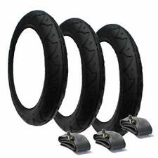 Phil and Teds Dash Pram Tyres & Tubes (Set of 3) - Great Value