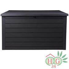 Keter Gartenbox Ontario XXL 870Liter Kissenbox Aufbewahrung Auflagenbox Terrasse