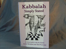 Kabbalah Simply Stated Conversations with the Rabbi by Bob Waxman Quaballah