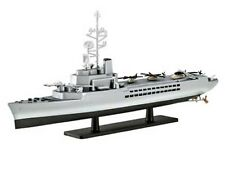 Revell Model Set French Helicopter Carrier Jeanne d'arc 1:1200 Scale  (65896)