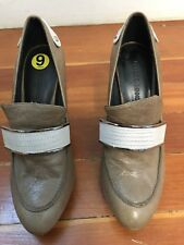 rebecca minkoff rachelle Sz 9M penny loafer classic shoes pumps heels taupe