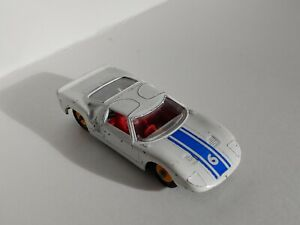 Rare Made in England by Lesney Matchbox Series #41 Ford GT Yellow Wheels