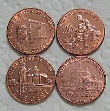 2009-D 1C Lincoln Bicentennial Cent (4 Coin Set) Uncirculated