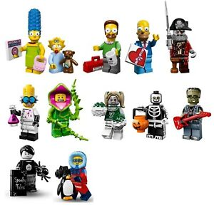 Lego The Simpsons, Monsters, or Other Minifigure, YOU PICK, Factory-sealed