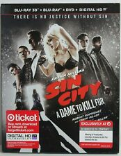 Sin City: A Dame to Kill For (Blu-ray/3D/Dvd, Slipcover, Target Exclusive, New)