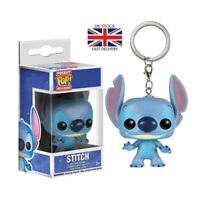 FUNKO POP Keychain Official Cute Lilo Stitch Action Figure Adorable Model Toys