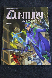 Heroes Unlimited RPG Century Station by Bill Coffin Palladium Books Sourcebook