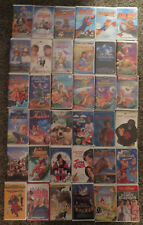 Huge VHS movie lot Disney AIr Bud Wizard of OZ Land Before Time Space Jam MORE