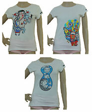 Crew Neck Short Sleeve Floral Petite T-Shirts for Women