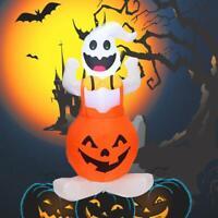 Halloween Aufblasbare Schlag In Kürbis Up Scary Halloween Außen Yard Dekor